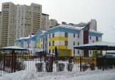Пофарбовано фасад ДНЗ № 100 «Казка»