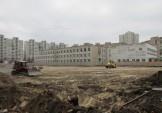 Триває капітальна реконструкція стадіону у школі №62