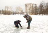 Гончаров: у Жандарці рівнь кисню в нормі, загрози загибелі риби немає
