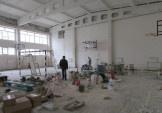 У СЗШ №62 тривають капітальні ремонти спортивних залів