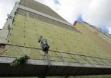 Продовжуються утеплення фасадів багатоповерхівок