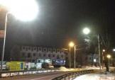 Перша ділянка вулиці Центральна вже світиться