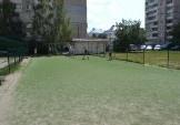 Полагодили футбольний майданчик для дітей