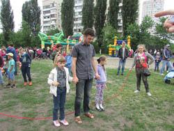 Дитяче свято на Позняках