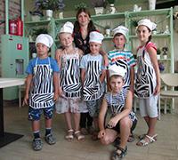Майстер-клас з приготування піци 08.08.2015