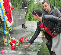 Дарниця вшановує загиблих у Другій Світовій війні