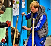 Толока на вул. Срібнокільській, 22а 17.11.2014