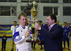 чемпіонат з міні-футболу серед будівельних організацій присвячений пам'яті Небесної сотні