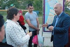 Зустріч з виборцями вул. Княжий Затон 12