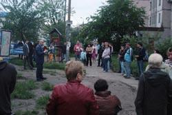 Зустріч з виборцями вул. А.Ахматової 39