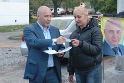 Зустріч з виборцями вул. Здолбунівська 5