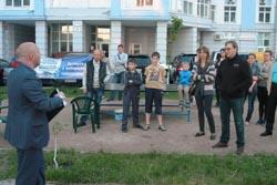 Зустріч з виборцями вул. Дніпровська Набережна 26 К