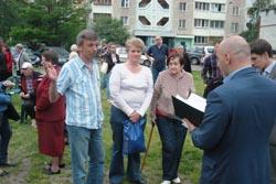 Зустріч з виборцями вул. А.Ахматової 41