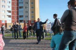 Зустріч з виборцями  вул. Ващенко 3