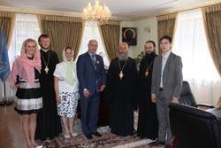 Вручення ордену Святителя Миколая Чудотворця