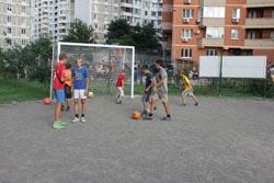 Відкриття футбольного майданчика