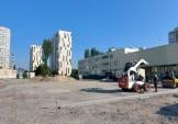 Будівництво стадіону 111 школи