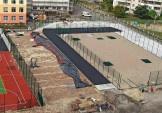 Стадіон школи № 62 щодня наближається до фінішної прямої свого будівництва.