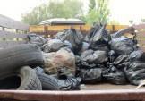 До 3 тон сміття зібрали сьогодні біля Жандарки