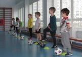 Відновила роботу безкоштовна секція з футболу для дошкільнят