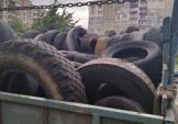 Вивозимо шини з Дарницького району