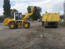 Санітарне очищення озера &laquo;Жандарка&raquo;<br />роботи ведуться з 11.07.20144