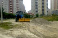 Санітарне очищення озера «Жандарка»<br />роботи ведуться з 11.06.2014
